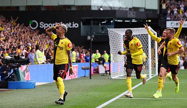 Premier League: Arsenal verspielt 2:0-Führung - ManCity patzt beim Aufsteiger