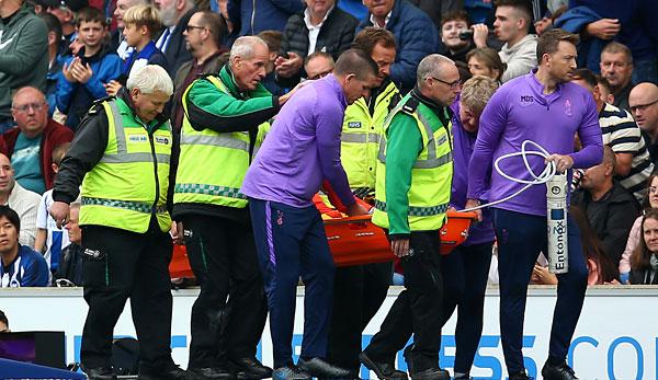 Horror-Verletzung: Hugo Lloris bei nächster Spurs-Pleite verletzt raus