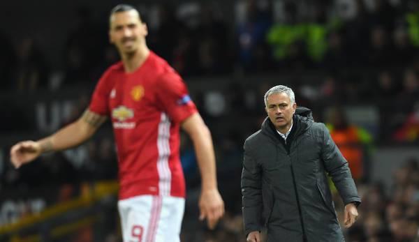 Premier League: Jose Mourinho will angeblich Zlatan Ibrahimovic zu Tottenham Hotspur holen