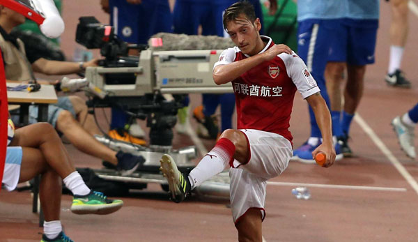 Mesut Özil and Arsenal are regularly on campaign tours in China.