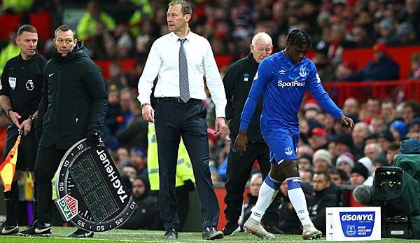 """Juve-Leihgabe Moise Kean bei Everton gegen Manchester United nach nur 18 Minuten ausgewechselt: """"Nichts Persönliches"""""""