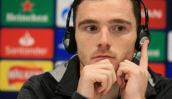 Apart from the previous two League Cup matches, Andrew Robertson was originally absent from Liverpool's eleven starts this season: In his 2-1 win in the Champions League against KRC Genk, he was only replaced in the.