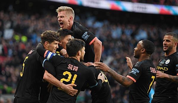 Sieg gegen Aston Villa: Manchester City gewinnt den Ligapokal