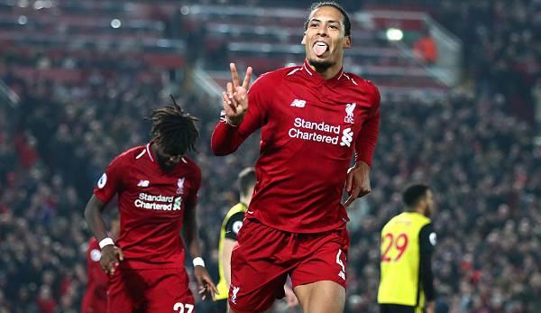 Premier League: Liverpool-Verteidiger Virgil van Dijk stellt sein Lieblingsteam vor