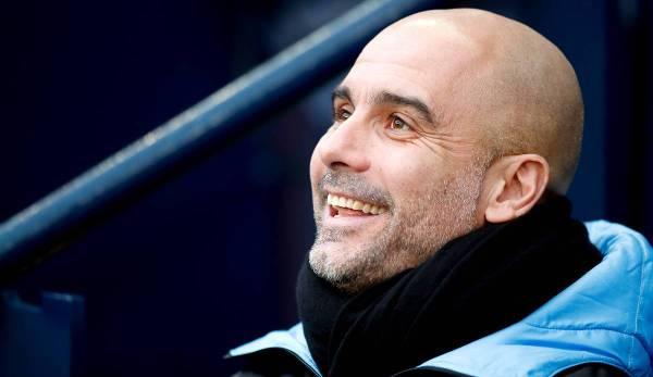 Pep Guardiola, Manchester City, Ligue des champions