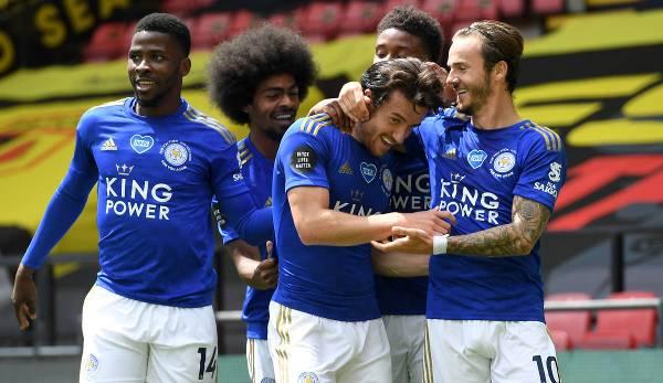 Leicester City prévoit de disputer la Ligue des champions l'année prochaine.