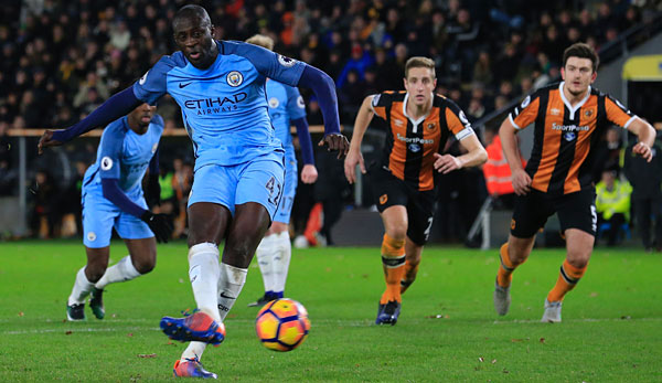 Yaya Toure brachte Manchester City in Front