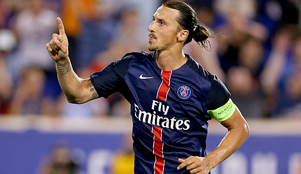 Zlatan Ibrahimovic kam 2012 zu Paris Saint Germain