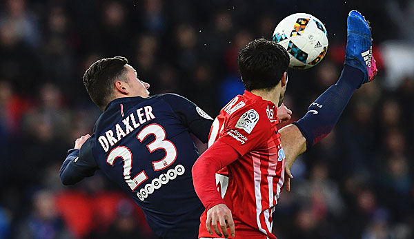 Julian Draxler hat in der Offensive von Paris Saint-Germain hochkarätige Konkurrenz