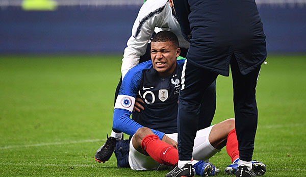Mbappe Verletzt