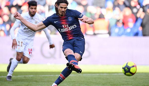 PSG wieder ohne Erfolgserlebnis: Cavani versemmelt Matchball gegen Nizza