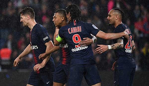 Ligue 1: PSG siegt deutlich gegen Dijon und erhält Meistertrophäe