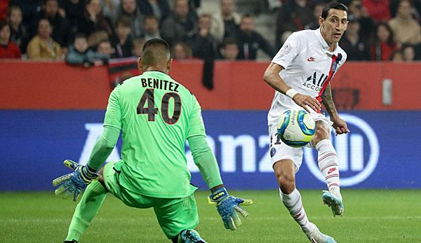 Di-Maria-Gala und Mbappe-Comeback: PSG schießt Nizza ab