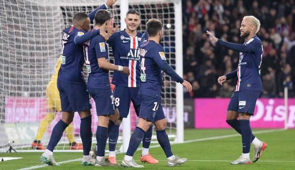 La dernière rencontre des deux clubs a clairement remporté Paris.