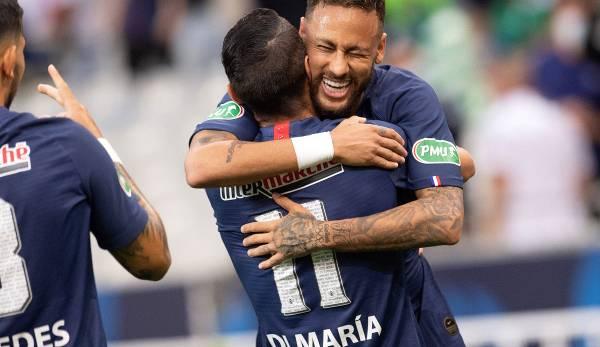 Neymar s'est converti aux tirs au but en 5: 5.