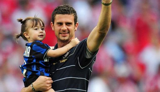 Photo of Thiago Motta & his  Daughter  Sophia Motta