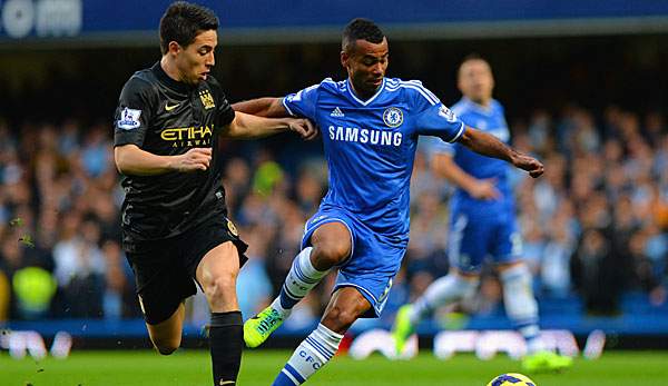 Ashley Cole (r.) wechselt zum AS Rom