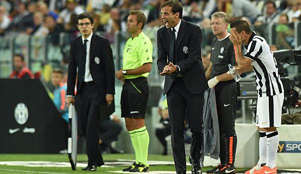 Juventus turin unter allegri for Tabelle juventus turin