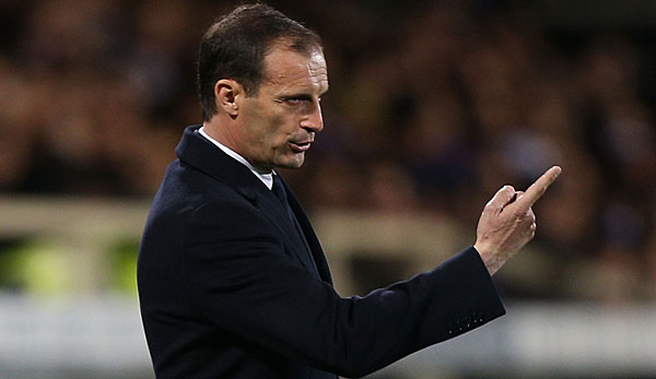 Not amused war Juve-Coach Allegri nach der Pleite gegen Hellas Verona
