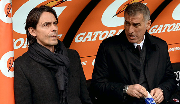 Mauro Tassotti war Co-Trainer unter Filippo Inzaghi