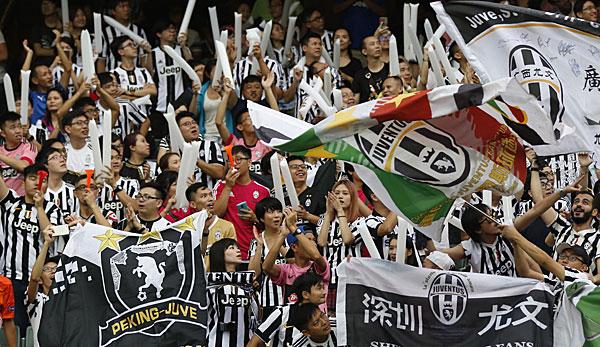 Juventus turin wird wegen fans zur kasse gebeten for Tabelle juventus turin