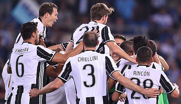 Coppa italia juventus turin feiert ersten titel gegen for Tabelle juventus turin