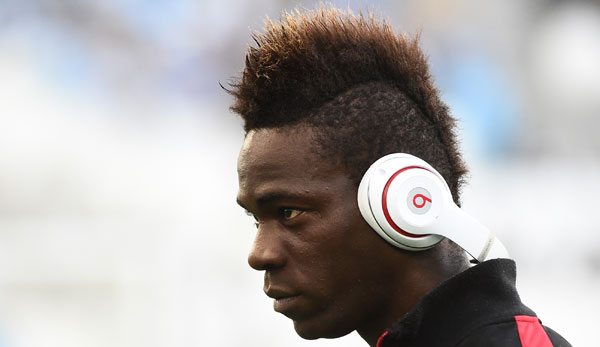 Mario Balotelli will in Nizza bleiben