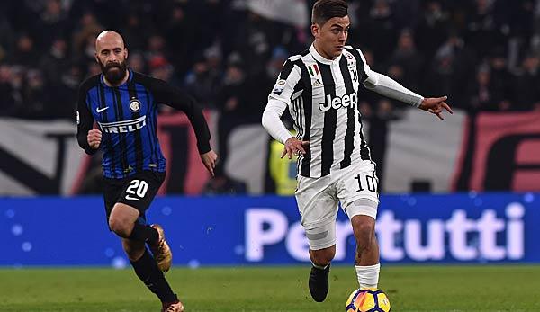 Inter mailand gegen juventus turin das spitzenspiel im for Tabelle juventus turin