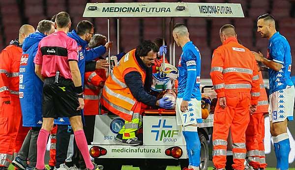 SSC Neapel in Sorgen um Torhüter David Ospina: Zusammenbruch auf dem Platz