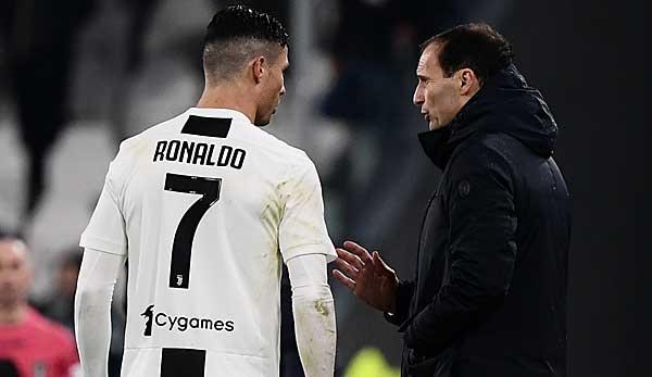 Cristiano Ronaldo vor Abschied bei Juventus Turin? Trainer Allegri: Er ist die Zukunft