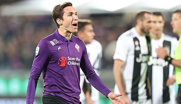 50 Millionen Euro plus Orsolini: So will sich Juventus angeblich Florenz-Star Federico Chiesa schnappen