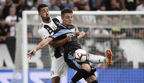 Serie A: Lazio-Star Sergej Milinkovic-Savic vor Wechsel zu Juventus Turin