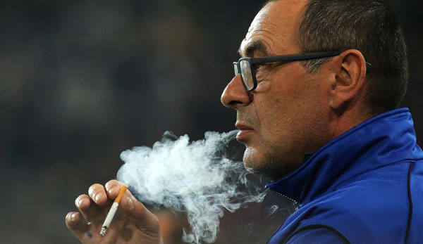 Maurizio Sarri verrät: So viele Zigaretten rauche ich pro Tag