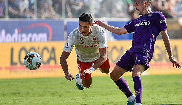 Franck Ribery feiert mit Florenz Punktgewinn gegen Juventus Turin