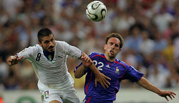 Gennaro Gattuso wollte wohl Franck Ribery von Bayern München zu Milan holen