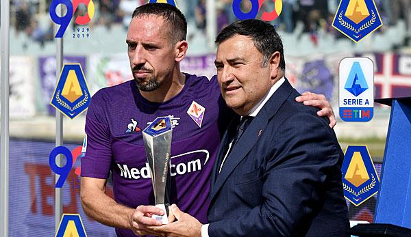 Serie A: Franck Ribery auf Höhenflug - Spieler des Monats und nächster Sieg mit Florenz