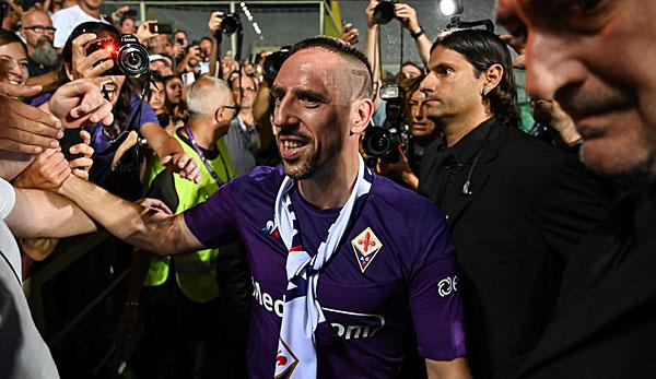 Franck Ribery schwärmt: Mit Florenz war es Liebe auf ersten Blick