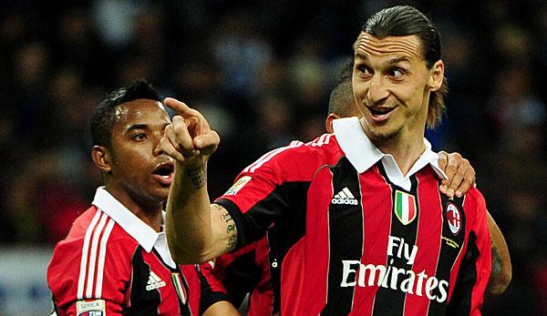Zlatan Ibrahimovic offenbar vor Rückkehr zur AC Milan