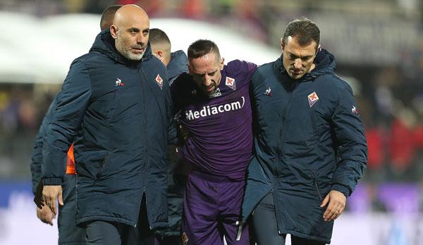 AC Florenz: Franck Ribery wird am Sprunggelenk operiert
