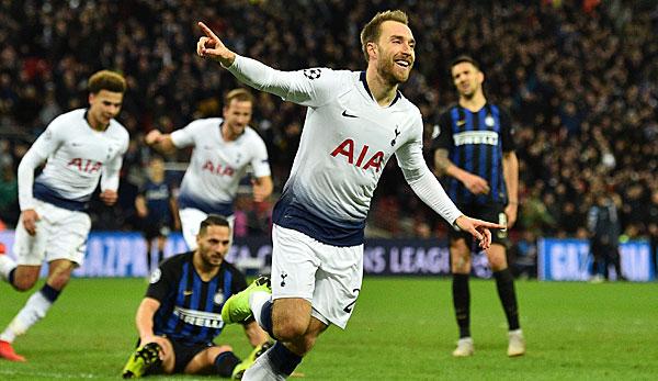Neuzugang aus Tottenham: Inter Mailand holt Christian Eriksen