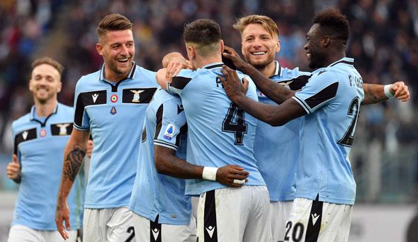 Lazio Rom unerwartet im Titelkampf der Serie A: Kontinuität mit Ausgestoßenen