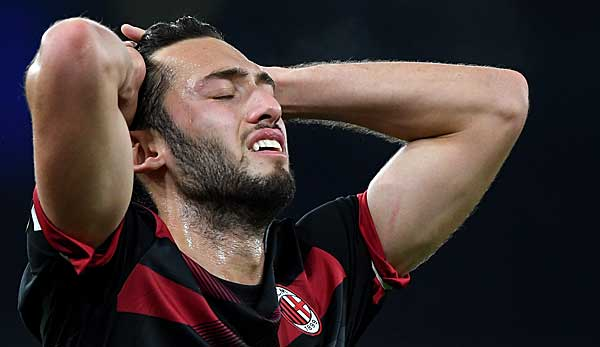 AC Milan: Hakan Calhanoglu fällt mit Muskelverletzung vorerst aus