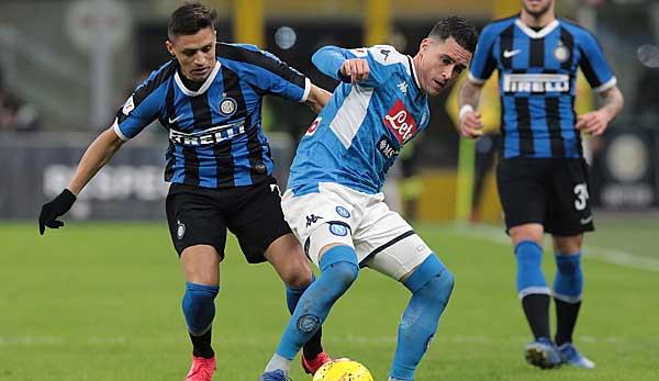 Neapel Gegen Milan