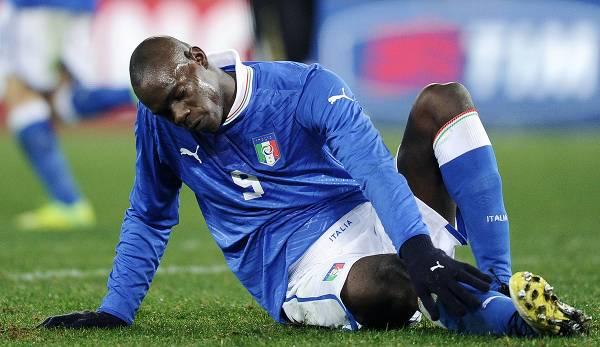 Même dans l'équipe nationale italienne, Mario Balotelli n'était pas à l'abri de l'hostilité raciste.