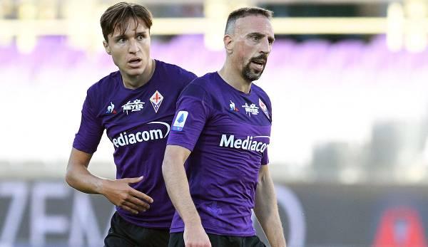 Federico Chiesa et Franck Ribéry sont les figures de proue de l'ACF Fiorentina.