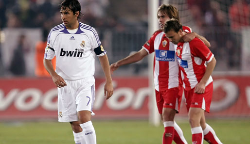 Real Madrid, Almeria