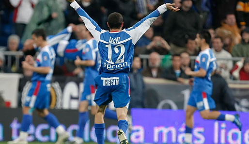 Fußball, International, Primera Division, Getafe