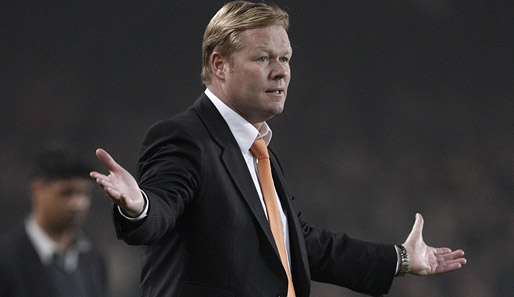 fußball, international, spanien, koeman