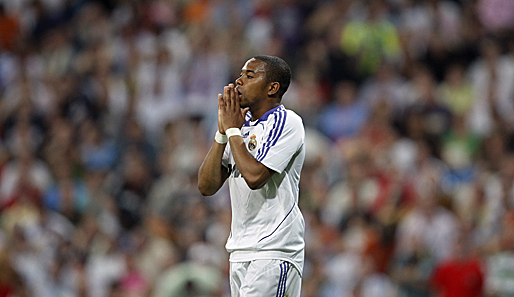 spanien, robinho, madrid real