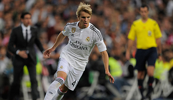 Real Madrid will Top-Talent Martin Ödegaard nicht abgeben